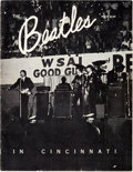 Music Memorabilia:Memorabilia, Beatles Cincinnati Commemorative Program (1964)....