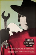 Music Memorabilia:Posters, John Lennon Promotional Poster For A Spaniard In The Works(Circa 1965). Very Rare....