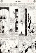 Original Comic Art:Panel Pages, Carmine Infantino Flash #124 Story Page 3 Original Art (DC,1961)....