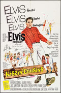 """Movie Posters:Elvis Presley, Kissin' Cousins & Other Lot (MGM, 1964). One Sheet (27"""" X 41"""")& Lobby Card (11"""" X 14""""). Elvis Presley.. ... (Total: 2 Items)"""
