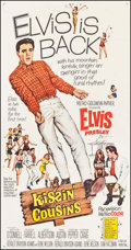 "Movie Posters:Elvis Presley, Kissin' Cousins (MGM, 1964). Three Sheet (40.5"" X 78.25""). ElvisPresley.. ..."