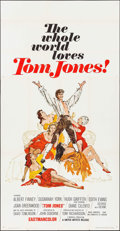 "Movie Posters:Academy Award Winners, Tom Jones (United Artists, 1963). International Three Sheet (41"" X79""). Academy Award Winners.. ..."