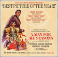 "Movie Posters:Academy Award Winners, A Man For All Seasons (Columbia, 1966). Six Sheet (79"" X 80""). Academy Award Winners.. ..."