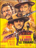 "Movie Posters:Western, The Good, the Bad and the Ugly (United Artists, R-1970s). FrenchGrande (46.5"" X 61""). Western.. ..."