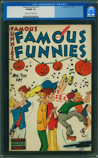 Famous Funnies #171 (Eastern Color, 1948) CGC VF/NM 9.0 Cream to off-white pages