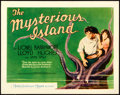 "Movie Posters:Science Fiction, The Mysterious Island (MGM, 1929). Title Lobby Card (11"" X 14"")....."