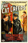 "Movie Posters:Mystery, The Cat Creeps (Universal, 1930). One Sheet (27"" X 41"").. ..."