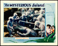 "Movie Posters:Science Fiction, The Mysterious Island (MGM, 1929). Lobby Card (11"" X 14"").. ..."