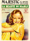 "Movie Posters:Comedy, Red Headed Woman (MGM, 1932). Pre-War Belgian (24"" X 33"").. ..."