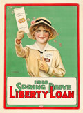 "Movie Posters:War, World War I Propaganda (U.S. Government Printing Office, 1918).Spring Drive Liberty Loan (20"" X 27.5"") Wilson-Craig Artwork..."