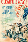 "Movie Posters:War, World War I Propaganda Poster by Howard Chandler Christy (U.S. Government Printing Office, 1918). Bond Poster (20"" X 29.5"") ..."