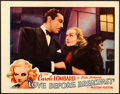 "Movie Posters:Comedy, Love Before Breakfast (Universal, 1936). Lobby Card (11"" X 14"")....."