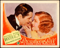 "Movie Posters:Comedy, Broadway Bill (Columbia, 1934). Lobby Card (11"" X 14"").. ..."