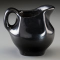 Other, A San Ildefonso Blackware Pitcher. Marie and Julian Martinez...