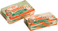 "Baseball Cards:Unopened Packs/Display Boxes, 1951 Topps ""Doubles"" Empty Retail Box. ..."