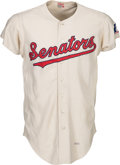 Baseball Collectibles:Uniforms, 1969 Hank Allen Game Worn Washington Senators Jersey, MEARS A7.5. ...