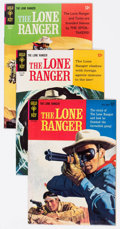 Silver Age (1956-1969):Western, Lone Ranger File Copies Group of 22 (Gold Key, 1964-77) Condition:Average VF+.... (Total: 22 Comic Books)