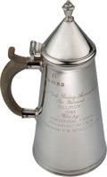 Miscellaneous Collectibles:General, 1993 Belmont Stakes Silver Cup won by Trainer Scotty Schulhofer. ...