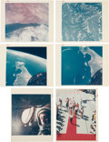 "Explorers:Space Exploration, Gemini 5: Group of Six Original NASA ""Red Number"" Color Photos. ...(Total: 6 Items)"