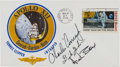 "Explorers:Space Exploration, Apollo 12 Crew-Signed ""Type One"" Insurance Cover Originally from the Personal Collection of Mission Support Crew Member Paul W..."