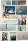 """Explorers:Space Exploration, NASA Landing and Recovery Division: Collection of Gemini andApollo-era Photos and """"Shipboard Recovery Training"""" 16mm MSCFilm..."""