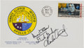 "Explorers:Space Exploration, Apollo 12 Rare Crew-Signed ""Type Three"" Insurance Cover Originally from the Personal Collection of Mission Lunar Module Pilot ..."