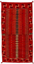 American Indian Art:Weavings, A Navajo Germantown Weaving...