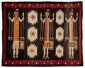 American Indian Art:Weavings, A Navajo Yei Rug...
