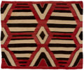 American Indian Art:Weavings, A Navajo Fourth Phase Chief's Style Blanket...