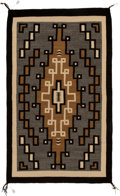 American Indian Art:Weavings, A Navajo Regional Rug . Two Gray Hills...