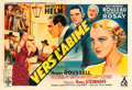"Movie Posters:Foreign, Vers l'abîme (UFA, 1934). French Double Grande (63"" X 92.25"") BorisGrinsson Artwork.. ..."