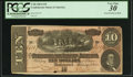 """Confederate Notes:1864 Issues, """"Representing Nothing on God's Earth Now"""" Confederate Poem T68 $10 1864.. ..."""