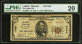 National Bank Notes:Missouri, Ludlow, MO - $5 1929 Ty. 2 The Ludlow NB Ch. # 13293. ...