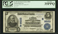 National Bank Notes:Pennsylvania, New Castle, PA - $5 1902 Plain Back Fr. 600 The Union NB Ch. #8503. ...