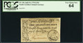 Colonial Notes:South Carolina, South Carolina April 10, 1778 3s 9d PCGS Very Choice New 64.. ...
