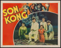 "Movie Posters:Horror, Son of Kong (RKO, 1933). Lobby Card (11"" X 14""). Horror.. ..."