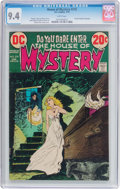 Bronze Age (1970-1979):Horror, House of Mystery #210 (DC, 1973) CGC NM 9.4 White pages....