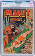 Golden Age (1938-1955):Science Fiction, Planet Comics #41 (Fiction House, 1946) CGC VG- 3.5 Off-whitepages....