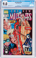 Modern Age (1980-Present):Superhero, The New Mutants #98 (Marvel, 1991) CGC VF/NM 9.0 Off-white to whitepages....