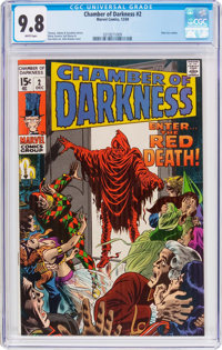 Chamber of Darkness #2 (Marvel, 1969) CGC NM/MT 9.8 White pages