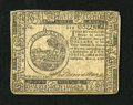 Colonial Notes:Continental Congress Issues, Continental Currency November 2, 1776 $6 Extremely Fine-About New.A couple of light folds are seen on this attractive Conti...