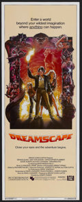 "Movie Posters:Adventure, Dreamscape (20th Century Fox, 1984). Insert (14"" X 36""). Adventure.Starring Dennis Quaid, Max von Sydow, Christopher Plumme..."