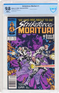 Modern Age (1980-Present):Science Fiction, Strikeforce: Morituri #1 (Marvel, 1986) CBCS NM/MT 9.8 Whitepages....