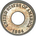 Patterns, 1884 1C One Cent, Judd-1721, Pollock-1929, R.5, PR66 NGC....