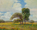 Fine Art - Painting, American, Rolla Sims Taylor (American, 1872-1970). Coreaposis. Oil oncanvas laid on board. 8 x 10 inches (20.3 x 25.4 cm). Signed...