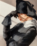 Fine Art - Painting, American, Sherle Ropkey Stevens. Untitled. Oil on canvas. 20 x 16inches (50.8 x 40.6 cm). ...