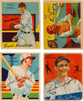 Autographs:Sports Cards, Signed 1934-36 Goudey & Diamond Stars Baseball Card Collection (20). ...