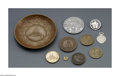 Other:American, TEN CHICAGO COIN SOUVENIR PIECES. One metal Century ofProgress bowl with various architectural images along the rim,... (Total: 10 Items)