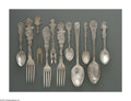 Other:American, A GROUP OF SOUVENIER PIECES. Shreve & Co.; CB&H; and othervarious makers. The group of eight sterling flatware and one si...(Total: 9 Items)