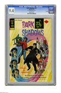 Bronze Age (1970-1979):Horror, Dark Shadows #27 File Copy (Gold Key, 1974) CGC NM 9.4 Off-whitepages. Overstreet 2005 NM- 9.2 value = $60. CGC census 11/0...